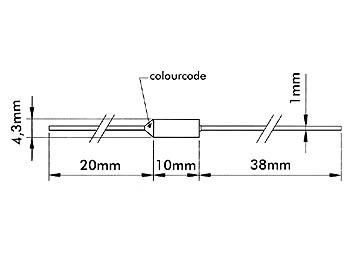 FUSIBLE TÉRMICO 113°C 110 +2 -3°C 250V 10A