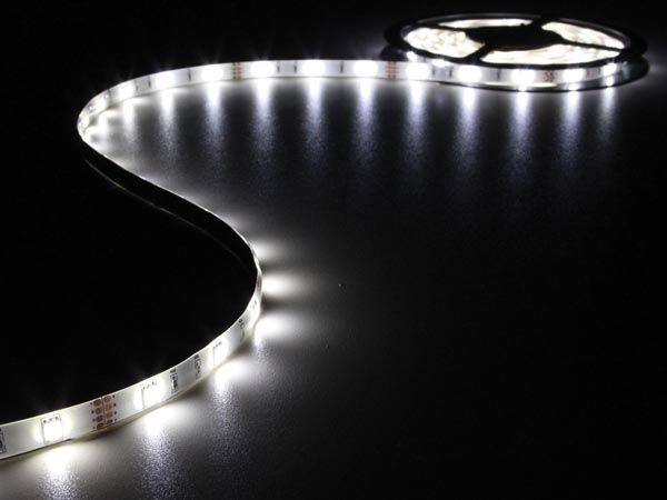 CINTA 150 LEDS FLEXIBLE BLANCO FRÍO 5 METROS 12V