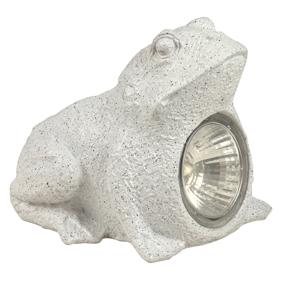 Lámpara LED solar IP44 en forma de rana Ranex