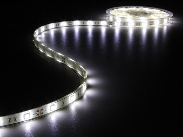 CINTA 150 LEDS FLEXIBLE BLANCO FRÍO 6500K 5 METROS 12V