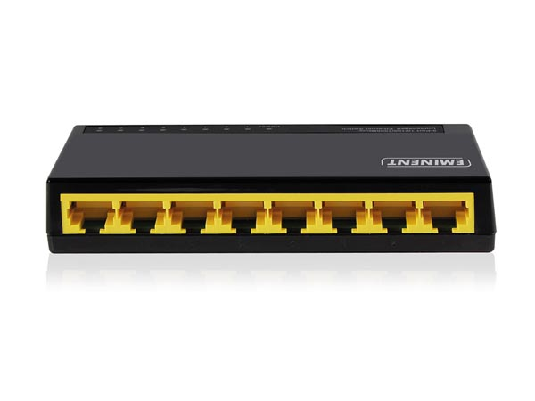 SWITCH DE 8 PUERTOS GIGABIT