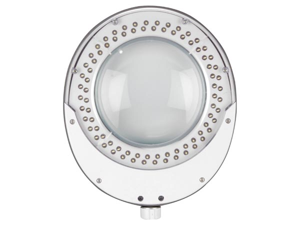 LÁMPARA LED CON LUPA 8 DIOPTRÍAS 8W 80 LEDS COLOR BLANCO