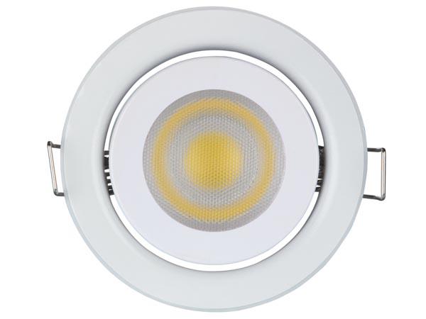 FOCO LED EMPOTRABLE 5W GU10 220V BLANCO NEUTRO