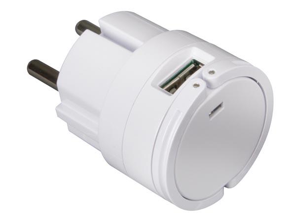 CARGADOR COMPACTO 2 SALIDAS USB 5V