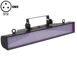EFECTO WASH COLOR CON LEDS DMX