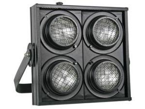 STAGE BLINDER CONTROLADO POR DMX 4 X BOMBILLA DWE 120V/650W - NEGRO