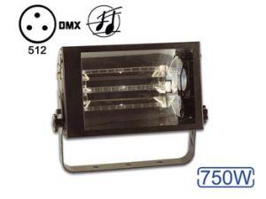 ESTROBOSCOPIO DMX CONTROLADO POR LA MÚSICA 750W