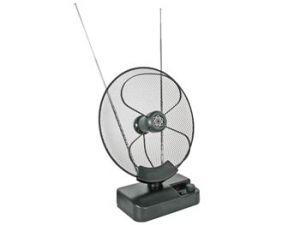 ANTENA ACTIVA PARABOLICA UHF VHF FM PARA USO EN INTERIORES