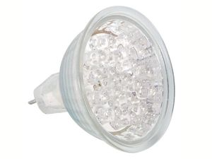BOMBILLA LEDS 1W 130LM 12VAC MR16 BLANCO CALIDO