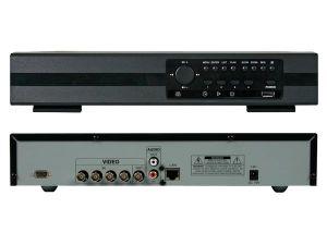 VIDEOGRABADORA DIGITAL MULTIPLEXOR QUAD H.264 DE 4 CANALES + ETHERNET + USB + VG
