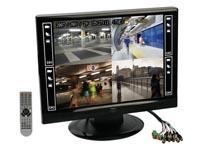 VIDEOGRABADORA DIGITAL H.264 DE 4 CANALES PANTALLA LCD + ETHERNET + USB