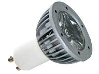BOMBILLA LED 3W COLOR 220V GU10 VERDE