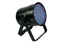 FOCO LED PAR64 PROFESIONAL CORTO NEGRO DMX512 177 LEDS DE 10MM