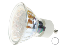 BOMBILLA LED GU10 COLOR BLANCO 220VAC