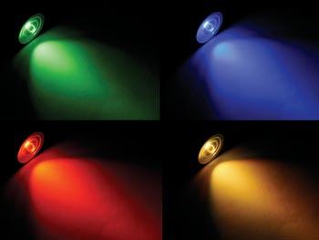 FOCO CON LEDS 5W GU10 RGB