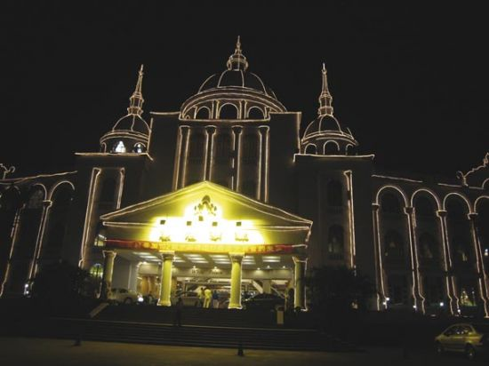MANGUERA LUMINOSA CON LEDs ROJOs 45m