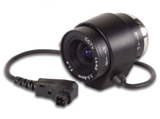 ÓPTICA CCTV ZOOM CON AUTOIRIS 3.5-8MM / F1.4