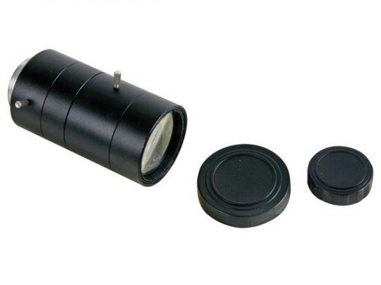 ÓPTICA CCTV ZOOM CON AUTOIRIS 6-60MM / F1.4