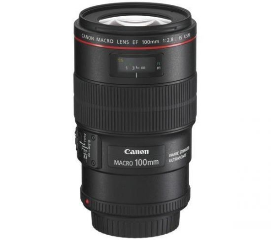 CANON OBJETIVO EF 100MM F/2,8L MACRO IS USM