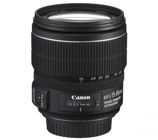 CANON OBJETIVO EF-S 15-85MM F/3,5-5,6 IS USM