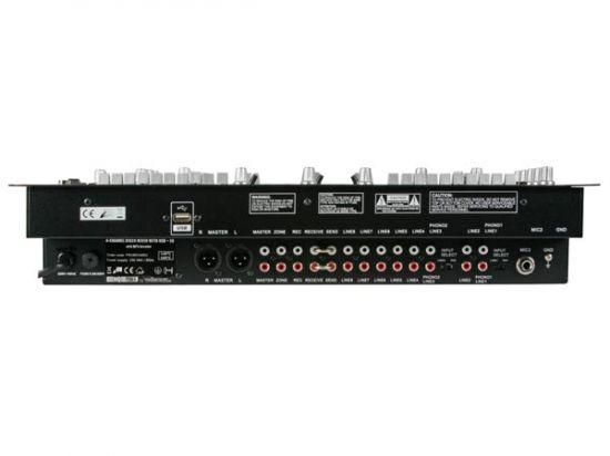 MESA DE MEZCLAS PROFESIONAL DE 4 CANALES + EQ + USB