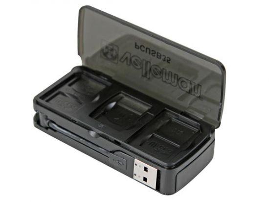 LECTOR/EDITOR MULTITARJETAS USB 2.0 - 5 PUERTOS