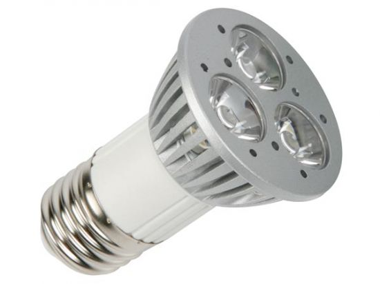 BOMBILLA LED 3 X 1W BLANCO NEUTRO E27