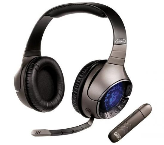 CREATIVE AURICULARES INALÁMBRICOS SOUNDBLASTER WORLD OF WARCRAFT
