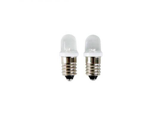BOMBILLAS CON LEDS BLANCOS E10 12VDC
