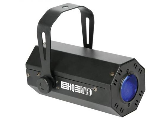 FOCO LED TRICOLOR CONTROL DMX 1 LED 10W