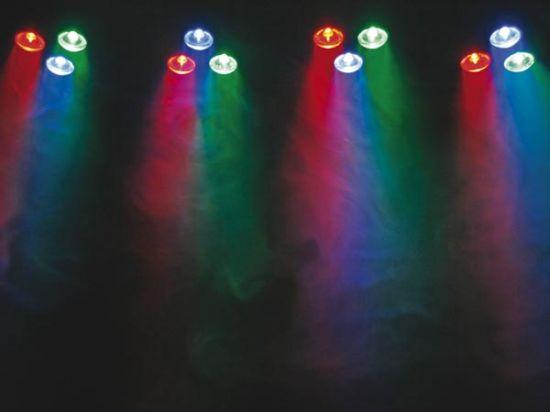 EFECTO WASH/SPOT 12 LEDS R+G+B DE 1W