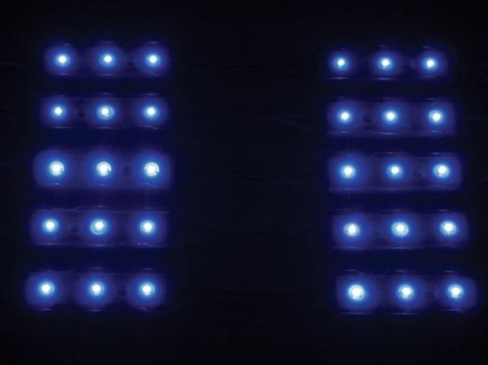 MÓDULOS DECORATIVOS CON LEDS COLOR AZUL 12V