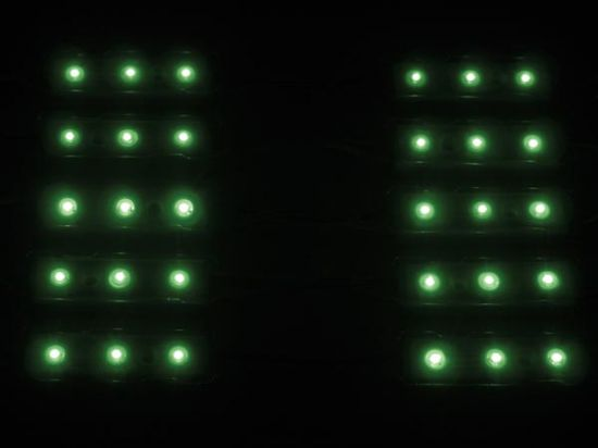 MÓDULOS DECORATIVOS CON LEDS - COLOR VERDE - 12V