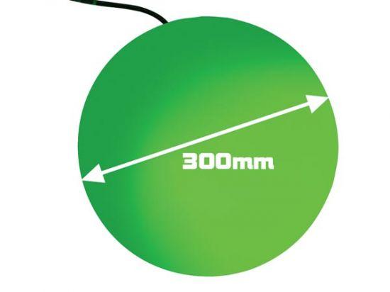 BOLA LUMINOSA 125 LEDS 300MM DMX