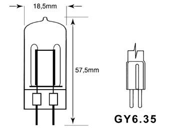 JDC 150W 220V GY6.35