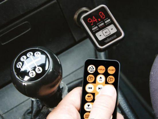 EMISOR FM PARA REPRODUCTOR MP3 EXPLORACIÓN AUTOMÁTICA USB/PUERTO SD (SDHC)/M