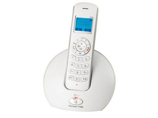 TELÉFONO INALÁMBRICO DECT  BAJA RADIACIÓN  COCOON 1100