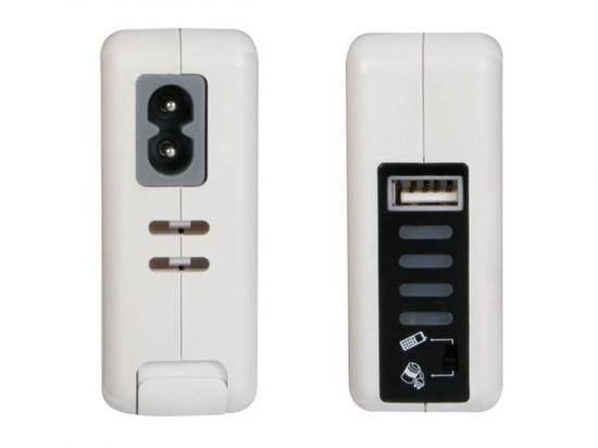 ESTACIÓN DE ALIMENTACIÓN/CARGADOR USB CON CONECTORES DE VIAJE