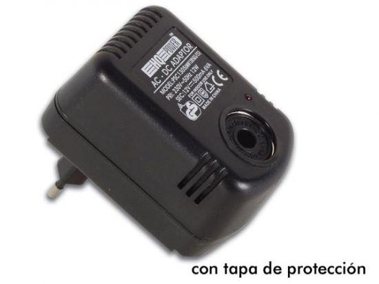 ADAPTADOR DE COCHE 230VAC/13.8V 500MA
