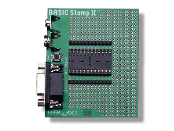 BASIC STAMP II CARRIER BOARD
