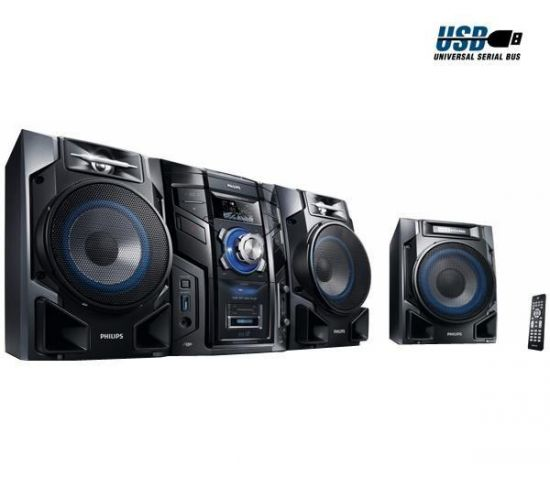 MINI CADENA CD MP3 USB FWM608 12 600W RMS