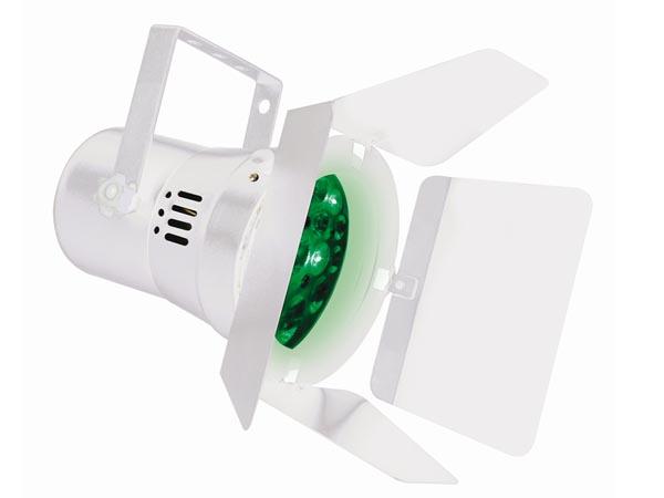 FOCO LED PAR36 - 12 X 1W R+G+B CON