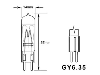 JDC 300W 220V GY6.35