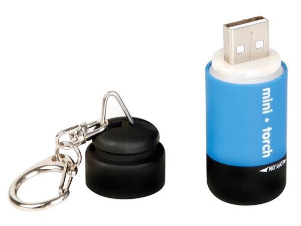 LINTERNA DE BOLSILLO CON LED USB