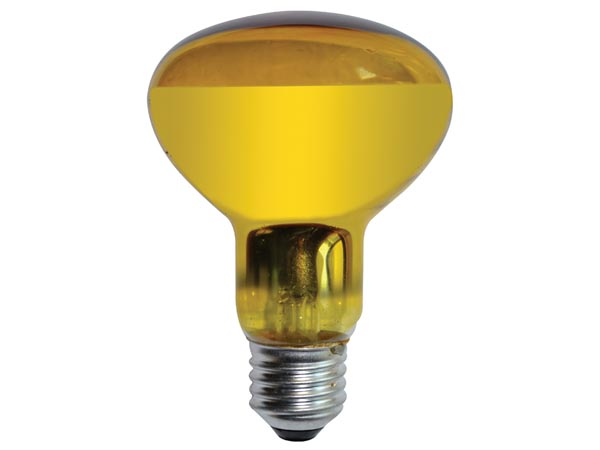 BOMBILLA COLOR AMARILLO 60W E27