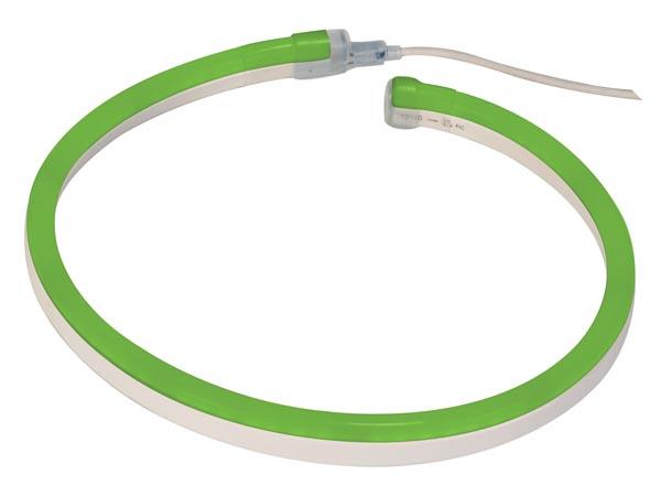 FLEX LED COLOR VERDE 20M 80 LEDS/M 24VDC