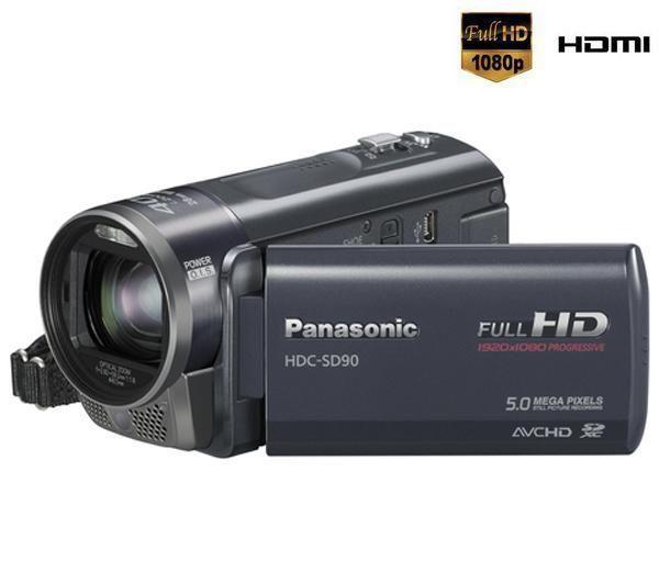 PANASONIC VIDEOCÁMARA ALTA DEFINICIÓN HDC-SD90 Titanio