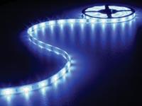 CINTA CON LEDS FLEXIBLE RESISTENTE AL AGUA IP68 COLOR AZUL 150 LEDS  5M