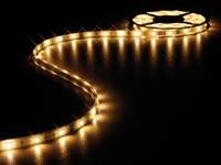 CINTA DE LEDS FLEXIBLE BLANCO CÁLIDO 3500K 150 LEDS 5M 12V