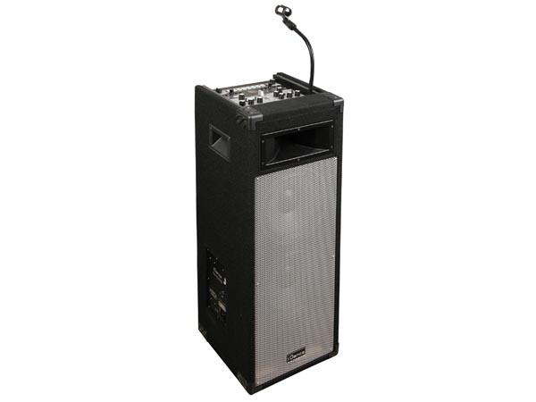 EQUIPO DE SONIDO DJ TECH PARTY BOX CON DOS REPRODUCTORES USB/MP3